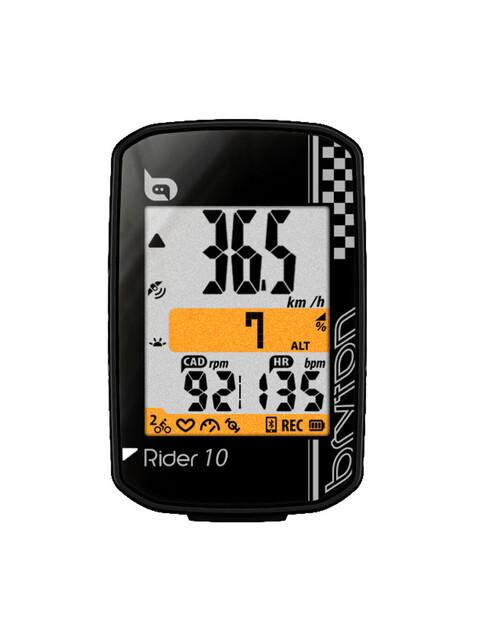 Bryton Rider 10 C - Compteur sans fil - + cadence noir